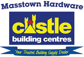 Masstown Hardware - Castle Building Supplies - Build, Renovate, Windows, Doors, Kitchen, Bath, Tools and More